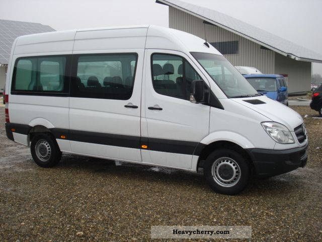 mercedes benz sprinter 211 cdi 9 seater air pdc 1 hand. Black Bedroom Furniture Sets. Home Design Ideas