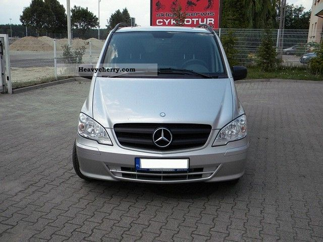 mercedes benz vito 116 cdi ecodriving 2011 other vans. Black Bedroom Furniture Sets. Home Design Ideas