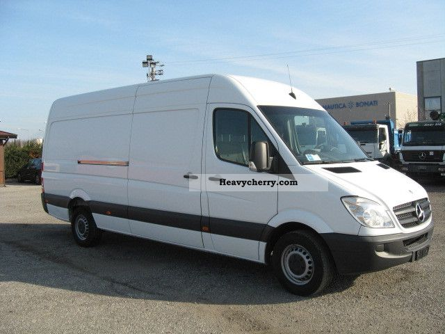 mercedes benz sprinter 318 cdi lang high maxi price 11 900 2007 box type delivery van high. Black Bedroom Furniture Sets. Home Design Ideas