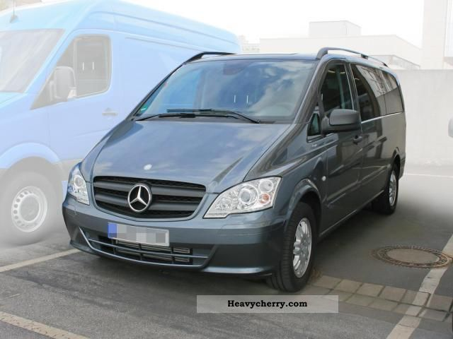 mercedes benz vito 122 cdi comand tbi l3200 automatic 2011 estate minibus up to 9 seats truck. Black Bedroom Furniture Sets. Home Design Ideas