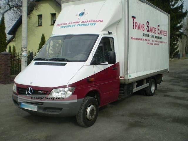Mercedes benz sprinter 413 cdi kontener 2006 other vans for 2006 mercedes benz sprinter specs