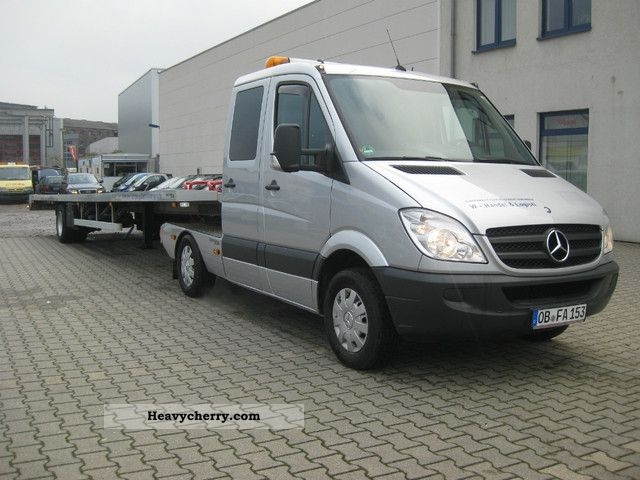 Mercedes benz sprinter 2008 car carrier truck photo and specs for 2008 mercedes benz truck