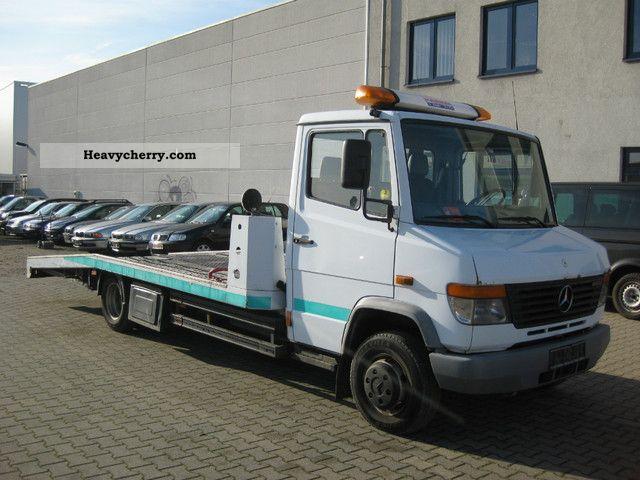 2002 Mercedes-Benz  615 Van or truck up to 7.5t Breakdown truck photo