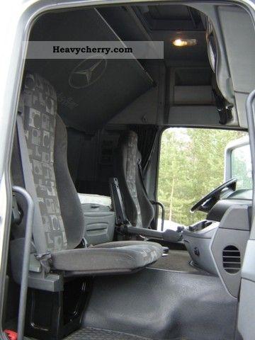 Mercedes Benz Actros 2546 0 3 Pedal 2005 Refrigerator Body
