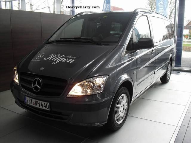 mercedes benz vito 116 cdi auto xenon ahk 2011 other vans. Black Bedroom Furniture Sets. Home Design Ideas