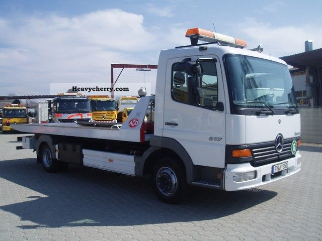 1999 Mercedes-Benz  Atego 817L Van or truck up to 7.5t Breakdown truck photo