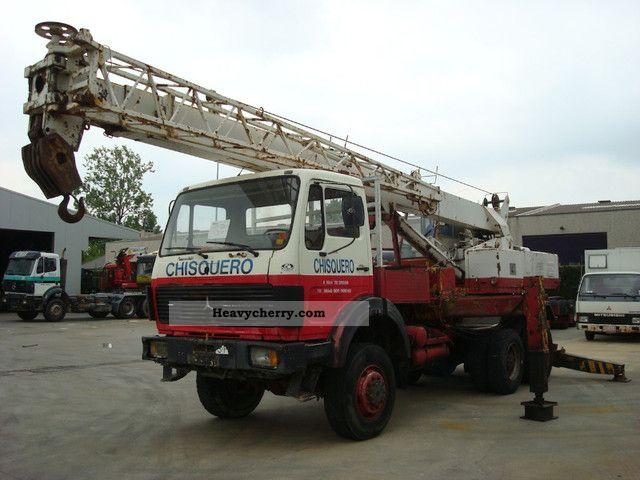 1978 Mercedes-Benz  2626 6X6 - CRANE 25T Truck over 7.5t Truck-mounted crane photo