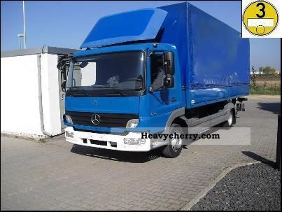 2006 Mercedes-Benz  Atego / 818 L Truck over 7.5t Stake body photo