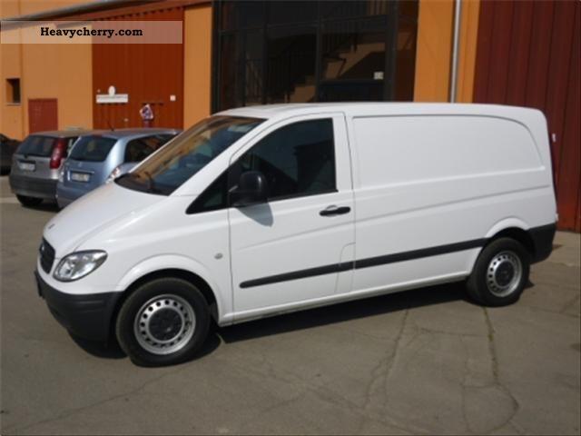 Mercedes benz vito 120 cdi compact 2009 other vans trucks for Mercedes benz small trucks