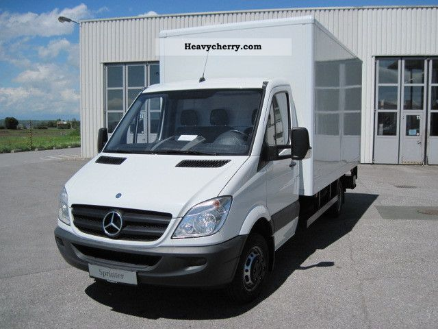 2010 Mercedes Benz Sprinter 516 Cdi 43 Cases Liftgate Van Or Truck Up To 7 5