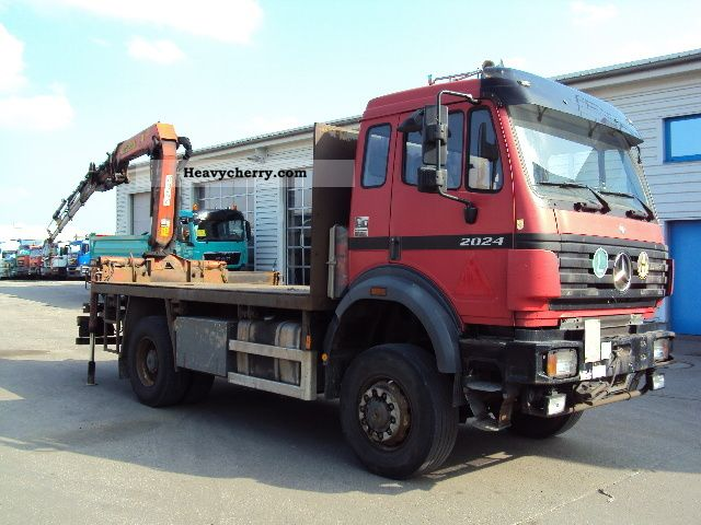 1999 Mercedes-Benz  2024 AK 4x4 with rear crane Truck over 7.5t Stake body photo