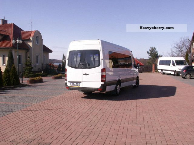 Mercedes benz sprinter 515 2007 bus public service vehicle for Mercedes benz sprinter service