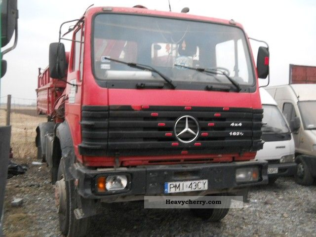 Mercedes benz 16 26 4x4 hds 1980 tipper truck photo and specs for Mercedes benz trucks price list