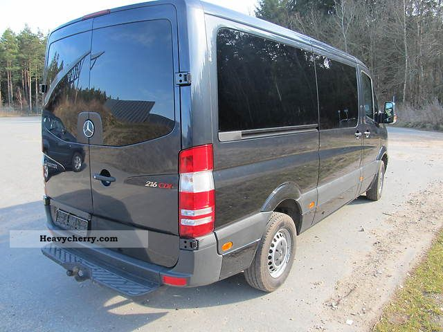mercedes benz sprinter 216 cdi 2010 estate minibus up to. Black Bedroom Furniture Sets. Home Design Ideas