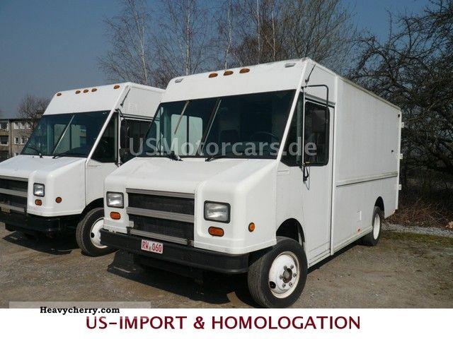 Mercedes Benz Freightliner Mt 45 U S Utility Stepvan 2000