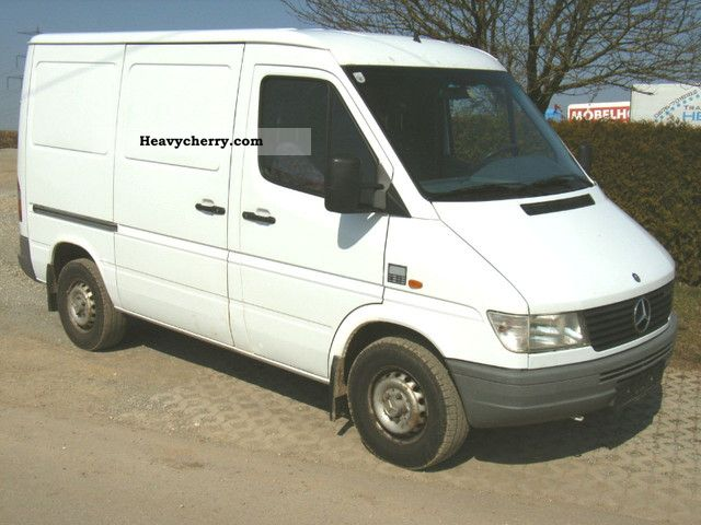 1996 Mercedes-Benz  312 D, 2 Hand Van or truck up to 7.5t Box-type delivery van photo