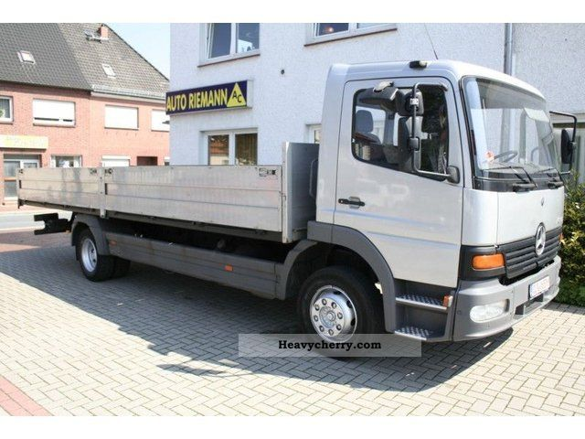 1999 Mercedes-Benz  Atego 1317 flatbed (baugl. 1217.1218, 1318) Truck over 7.5t Stake body photo
