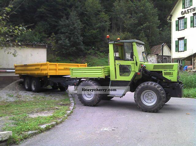 mercedes benz mb trac 700k 1983 agricultural tractor photo. Black Bedroom Furniture Sets. Home Design Ideas
