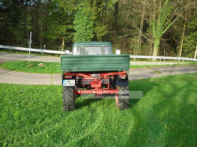 1973 Mercedes-Benz  Unimog Agricultural vehicle Tractor photo