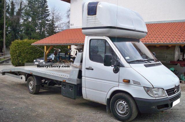 2003 Mercedes-Benz  313 CDI Van or truck up to 7.5t Breakdown truck photo
