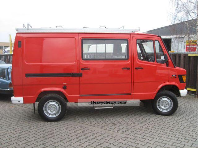 Mercedes Benz 310 4x4 1990 Box Type Delivery Van Photo And