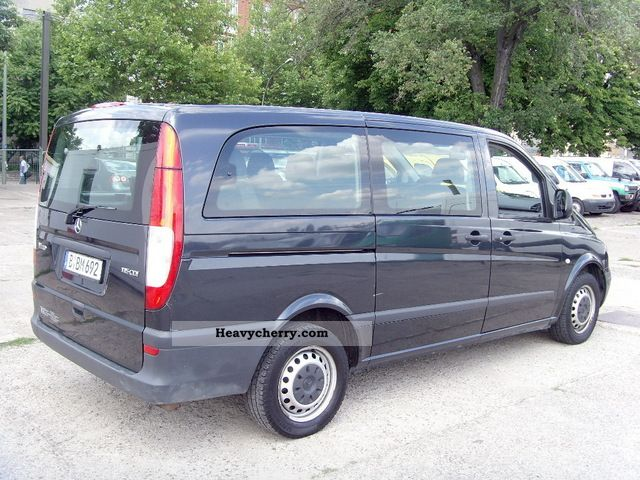 mercedes benz vito 111 cdi long 9 seater climate 4. Black Bedroom Furniture Sets. Home Design Ideas