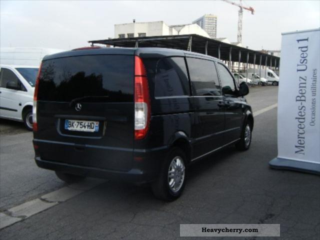 Mercedes benz vito 115cdi compact fg 2t7 clim 2006 box for Mercedes benz small trucks
