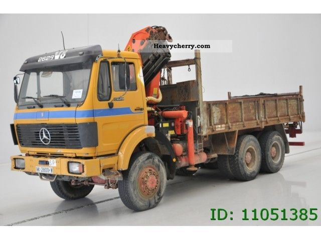 1985 Mercedes-Benz  2628 AK Truck over 7.5t Stake body photo