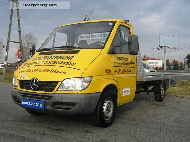2000 Mercedes-Benz  Sprinter 311 CDI AUTOLAWETA Truck over 7.5t Other trucks over 7 photo
