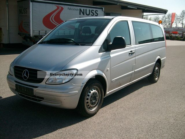 mercedes benz vito 115 9 seater 2005 estate minibus up