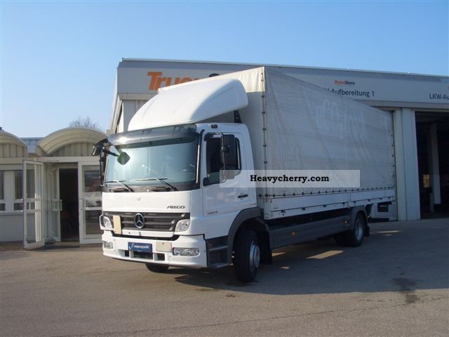 2008 Mercedes-Benz  1224 L/48 Truck over 7.5t Stake body photo