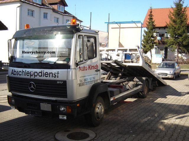 1993 Mercedes-Benz  917 Truck over 7.5t Breakdown truck photo
