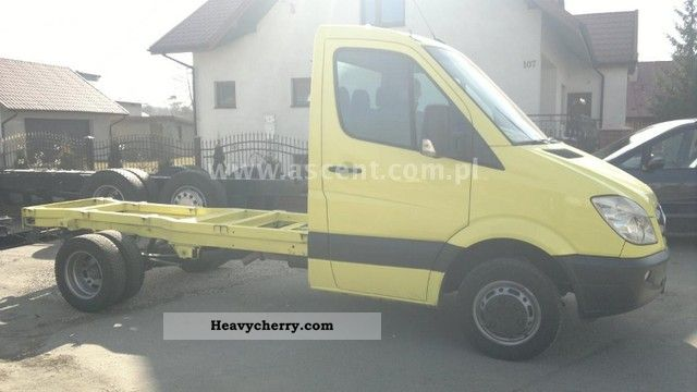 2010 Mercedes-Benz  SPRINTER 416 CDi RAMA-CHASSIS Van or truck up to 7.5t Chassis photo