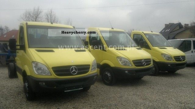 2009 Mercedes-Benz  SPRINTER 416 CDi RAMA Van or truck up to 7.5t Chassis photo