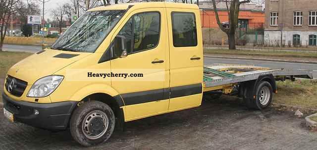 2007 Mercedes-Benz  sprinter 515 cdi dk43 Van or truck up to 7.5t Breakdown truck photo