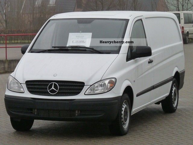 mercedes benz vito 115 cdi long nr94 2010 box type delivery van long photo and specs. Black Bedroom Furniture Sets. Home Design Ideas