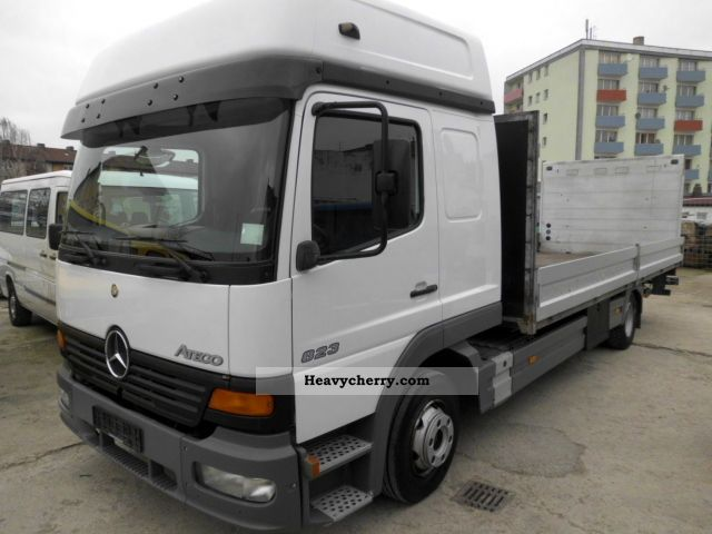 2000 Mercedes-Benz  Atego 823 Truck over 7.5t Stake body photo