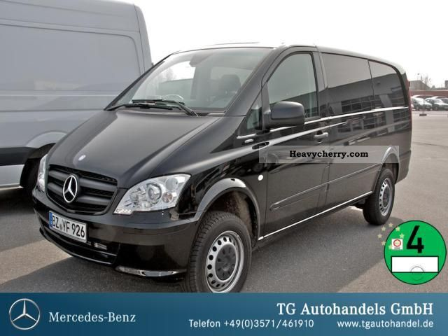2012 Mercedes-Benz  Vito 116 CDI 4x4 Mixto 5 seats rear wing doors Van or truck up to 7.5t Box-type delivery van photo