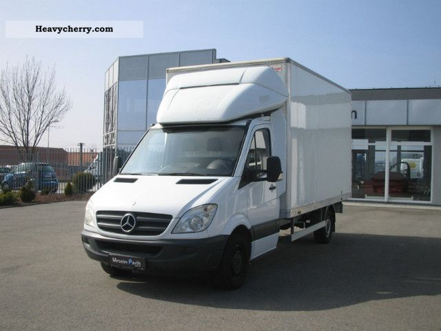 mercedes benz sprinter 315cdi koffer 2006 box truck photo. Black Bedroom Furniture Sets. Home Design Ideas