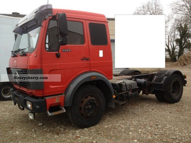 Mercedes benz sk 1425 ls 1425 ls tractors for air 1985 for Mercedes benz tractors