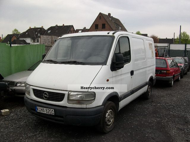 2000 Opel  Movano Van or truck up to 7.5t Box-type delivery van photo
