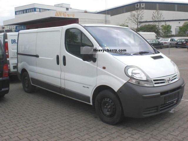 2005 Opel  VIVARO (Nissan Primastar, AIR, 6 Gang.LANG) Van or truck up to 7.5t Box-type delivery van photo