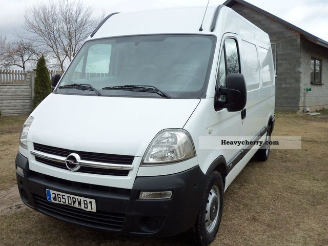 opel movano 2 5 dci klimatyzacja 2003 box type delivery van high and long photo and specs. Black Bedroom Furniture Sets. Home Design Ideas