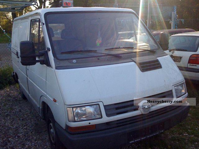 1998 Opel  Arena Van or truck up to 7.5t Box-type delivery van photo