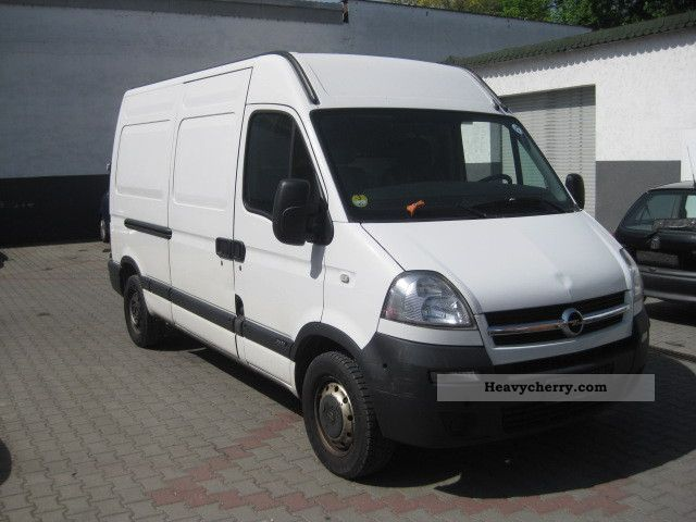 opel movano 2 5 cdti l2h2 truck admission 2006 box type. Black Bedroom Furniture Sets. Home Design Ideas