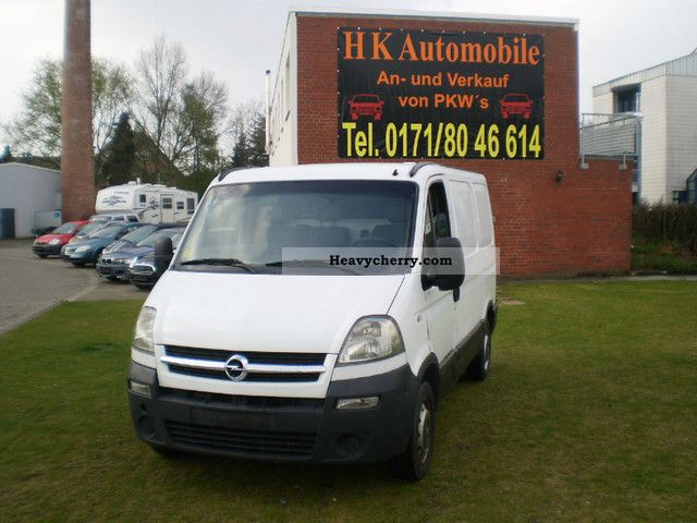 2005 Opel  Movano Van or truck up to 7.5t Box-type delivery van photo