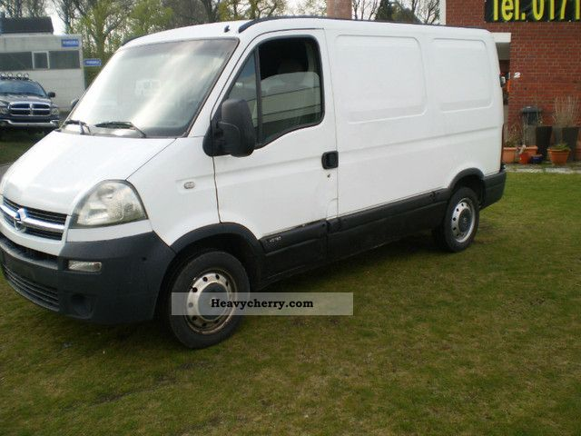opel movano 2005 box type delivery van photo and specs. Black Bedroom Furniture Sets. Home Design Ideas