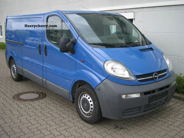 opel vivaro 1 9 dti l2h1 panel vans 2002 box type delivery van long photo and specs. Black Bedroom Furniture Sets. Home Design Ideas