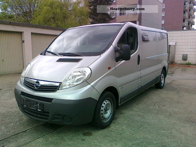 opel vivaro 2 0 air cross 2008 box type delivery van long photo and specs. Black Bedroom Furniture Sets. Home Design Ideas