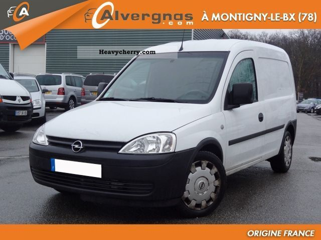 opel combo 1 3 cdti cargo pack cd clim 2007 box type delivery van photo and specs. Black Bedroom Furniture Sets. Home Design Ideas